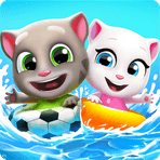 Скачать Talking Tom Pool на Андроид