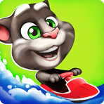 Скачать Talking Tom Jetski на Андроид