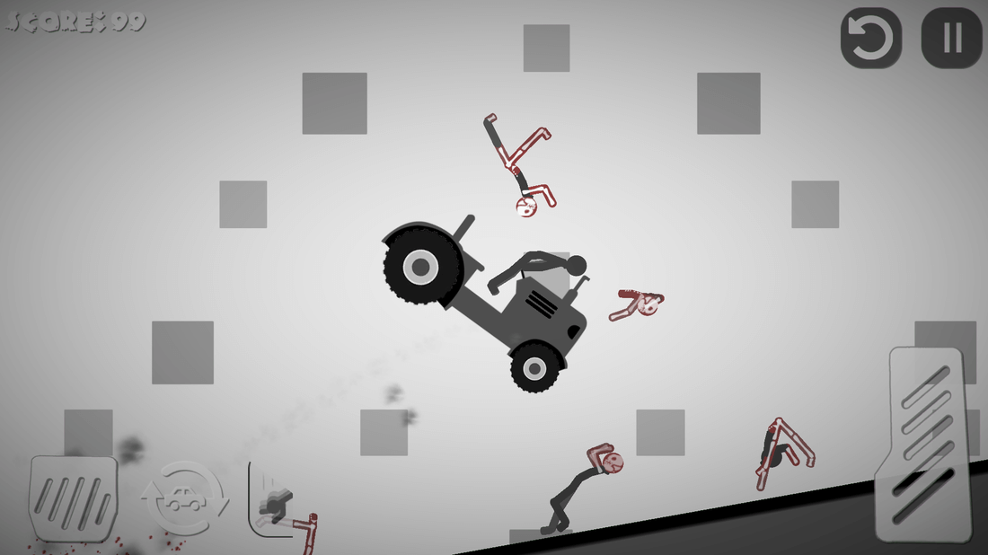 Скриншот #1 из игры Stickman Destruction 4 Annihilation