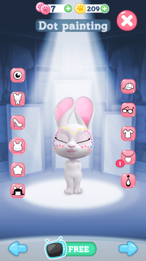 Скриншот #11 из игры Bu the Baby Rabbit - Virtual pets care game
