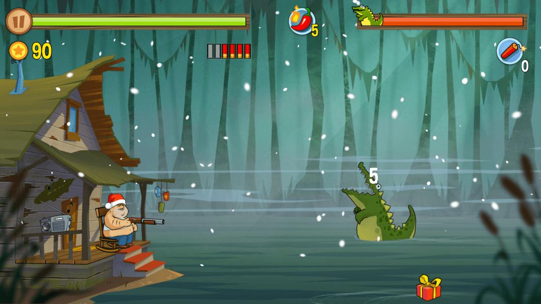 Скриншот #2 из игры Swamp Attack