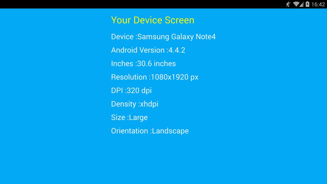 Скриншот #1 из программы Screen Resolution