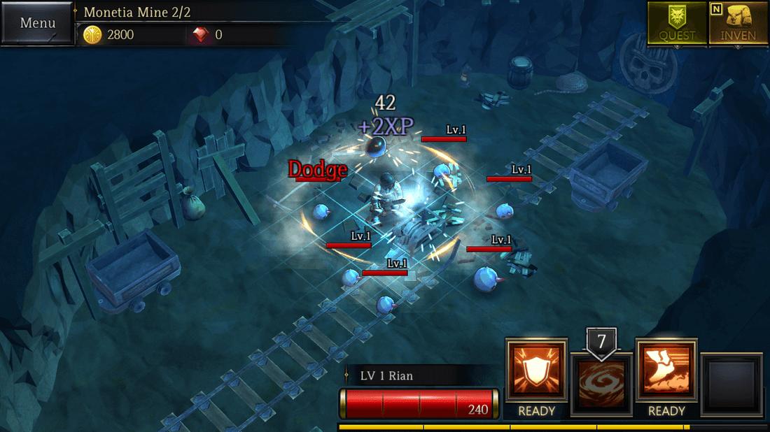 Скриншот #1 из игры Rogue Hearts