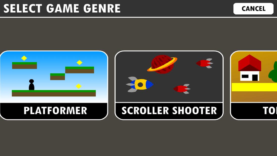 Скриншот #1 из программы Game Creator