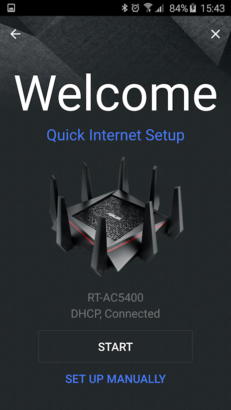 Скриншот #1 из программы ASUS Router