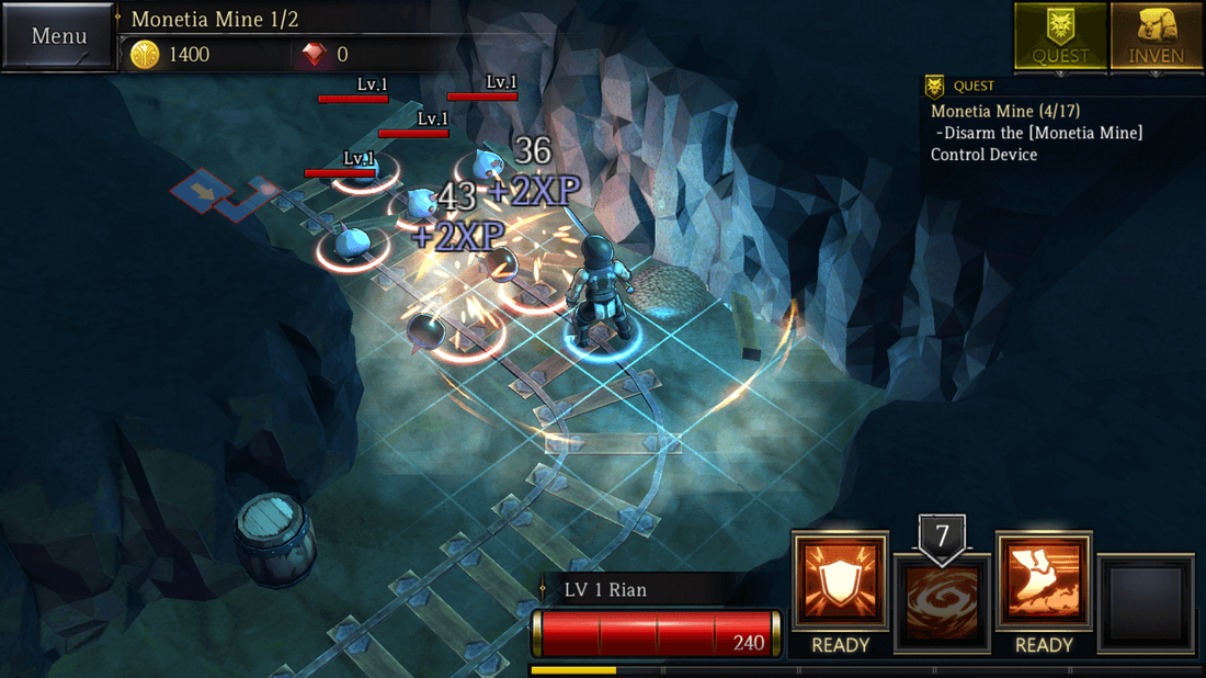 Скриншот #2 из игры Rogue Hearts