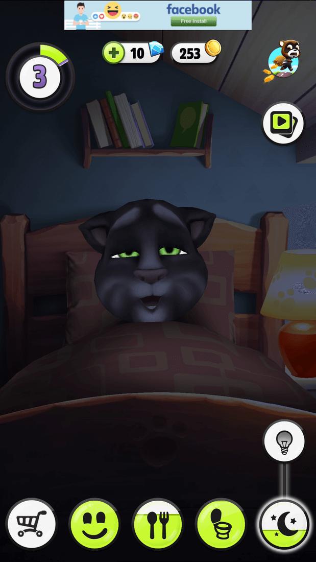 Скриншот #1 из игры My Talking Tom