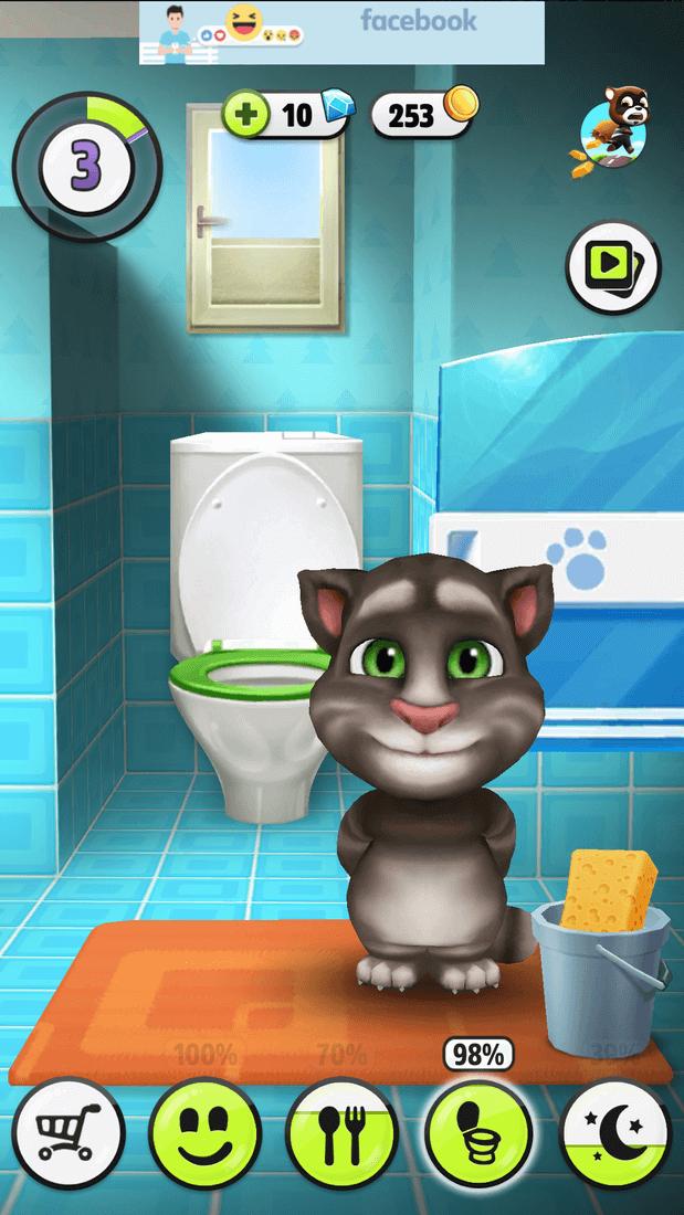 Скриншот #2 из игры My Talking Tom