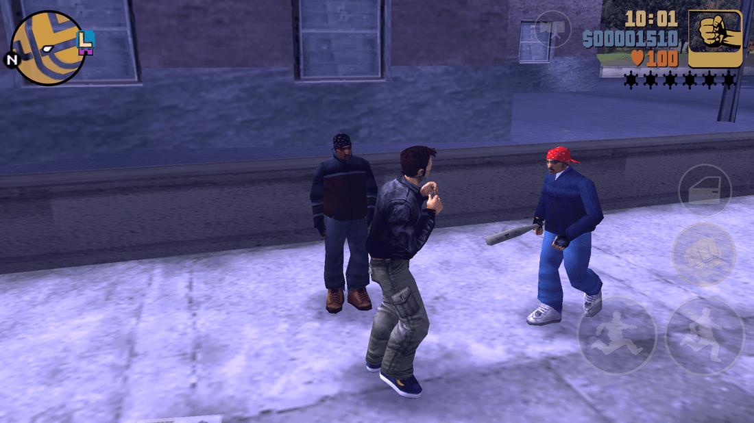 Скриншот #3 из игры Grand Theft Auto III