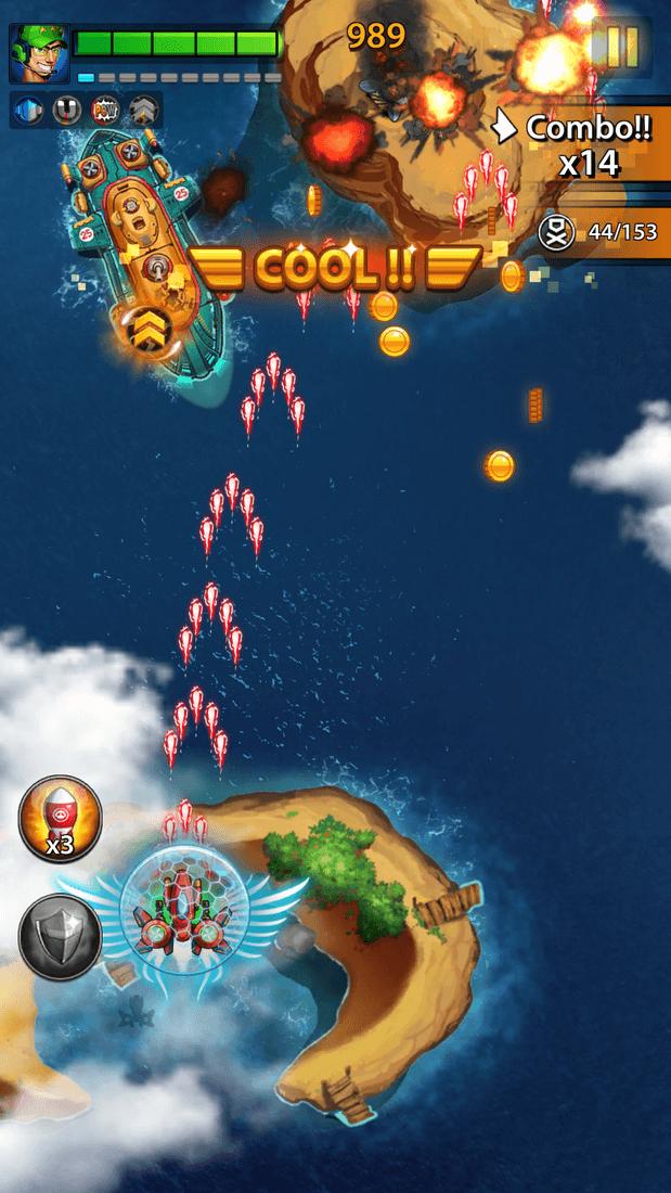 Скриншот #2 из игры Space X: Galaxy War of Air Force