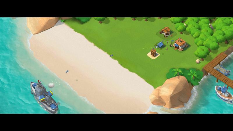 Скриншот #3 из игры Boom Beach