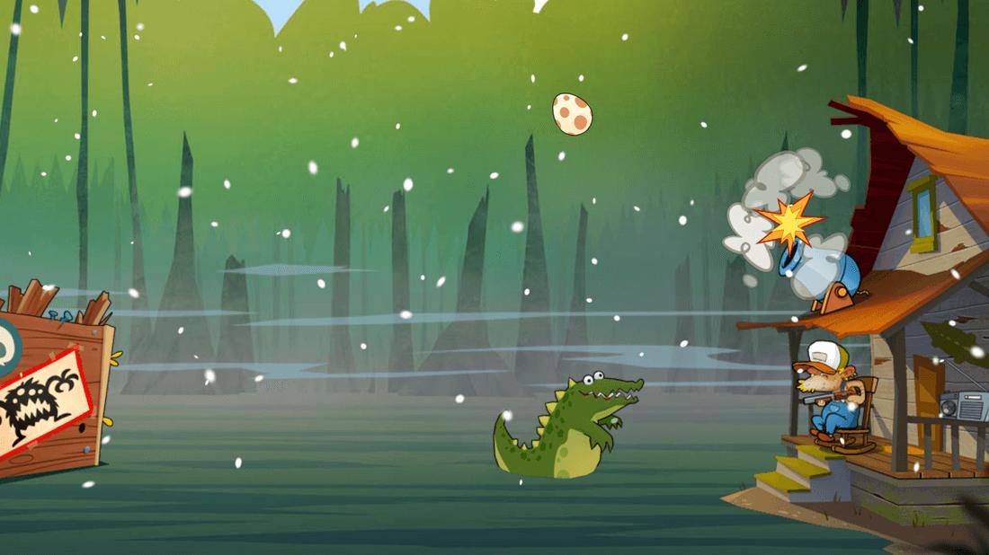 Скриншот #4 из игры Swamp Attack