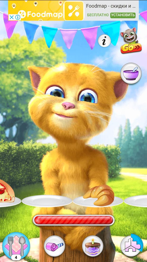 Скриншот #1 из игры Talking Ginger 2