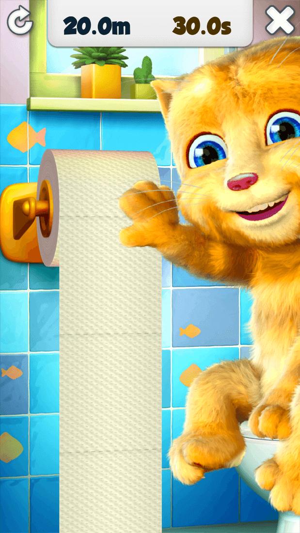 Скриншот #2 из игры Talking Ginger