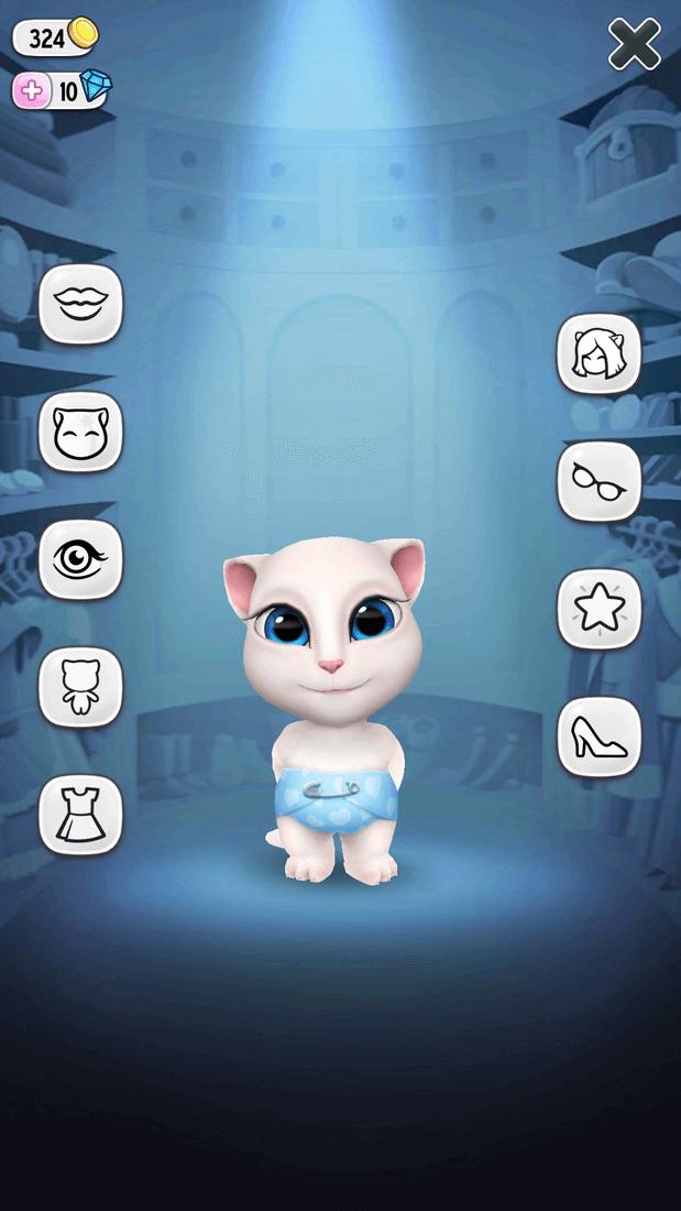 Скриншот #4 из игры My Talking Angela