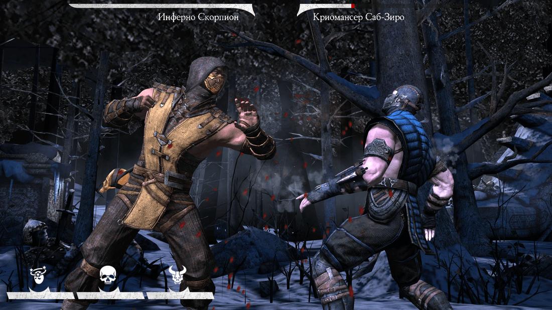 Скриншот #3 из игры MORTAL KOMBAT X