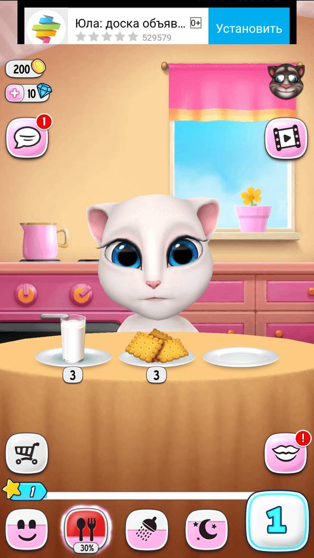 Скриншот #5 из игры My Talking Angela