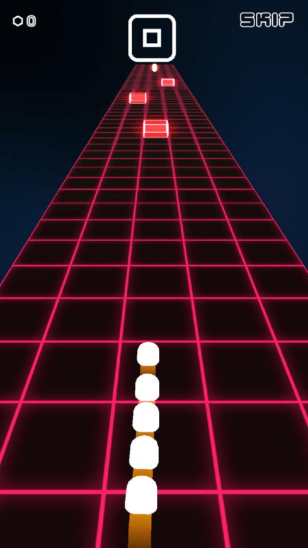 Скриншот #1 из игры Space Snake