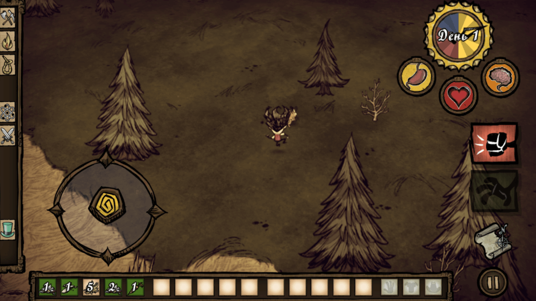 Скриншот #9 из игры Don\'t Starve: Pocket Edition