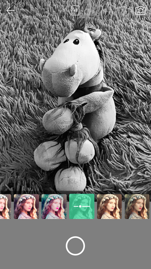 Скриншот #1 из программы Face Camera-Snappy Photo