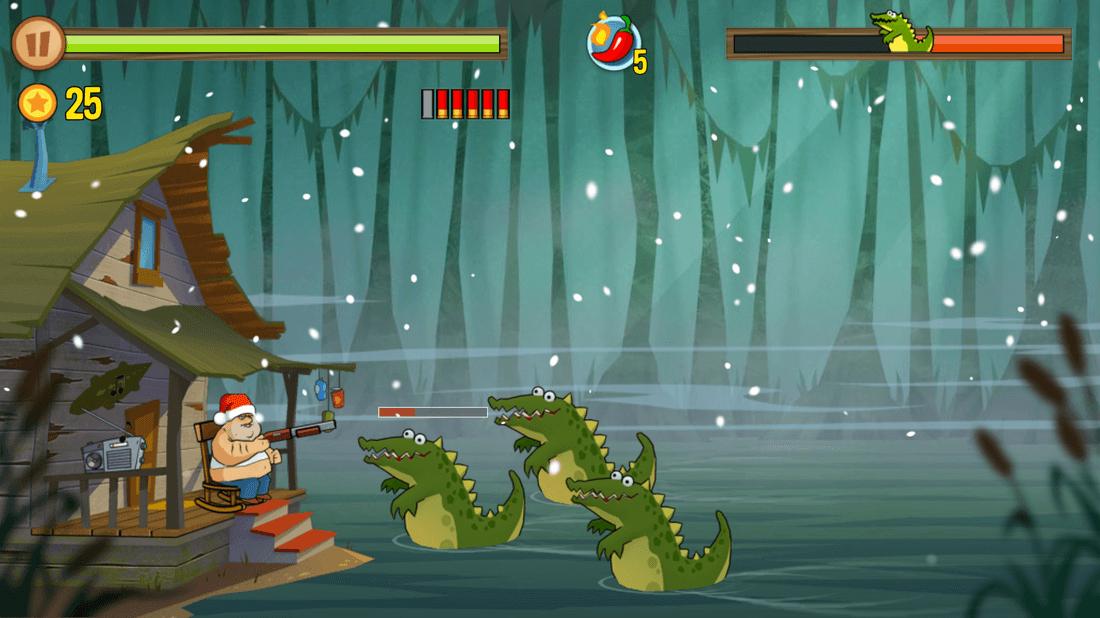 Скриншот #6 из игры Swamp Attack