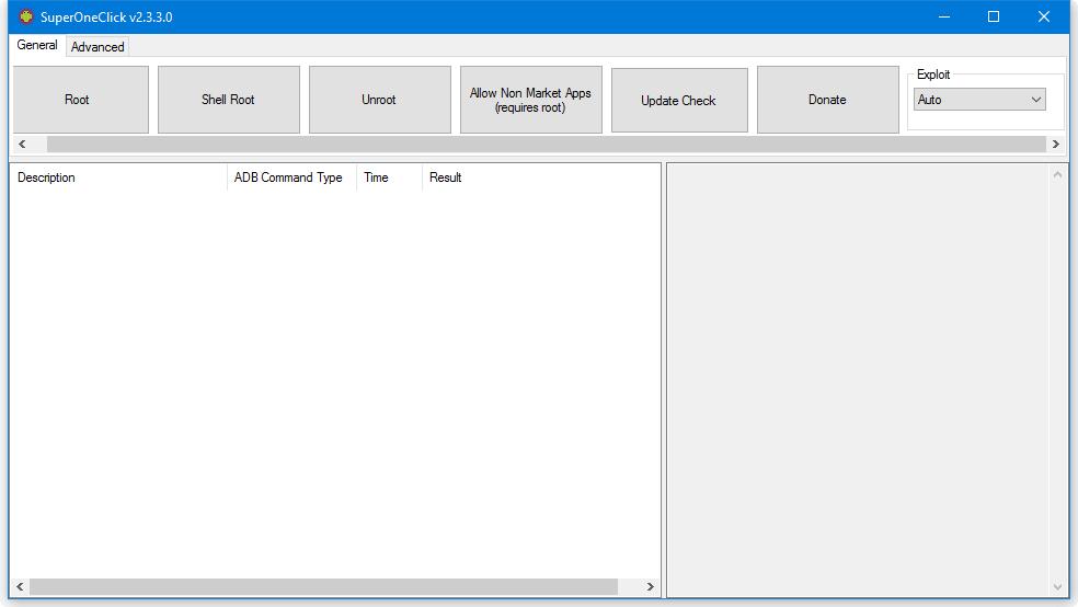Скриншот #1 из программы SuperOneClick