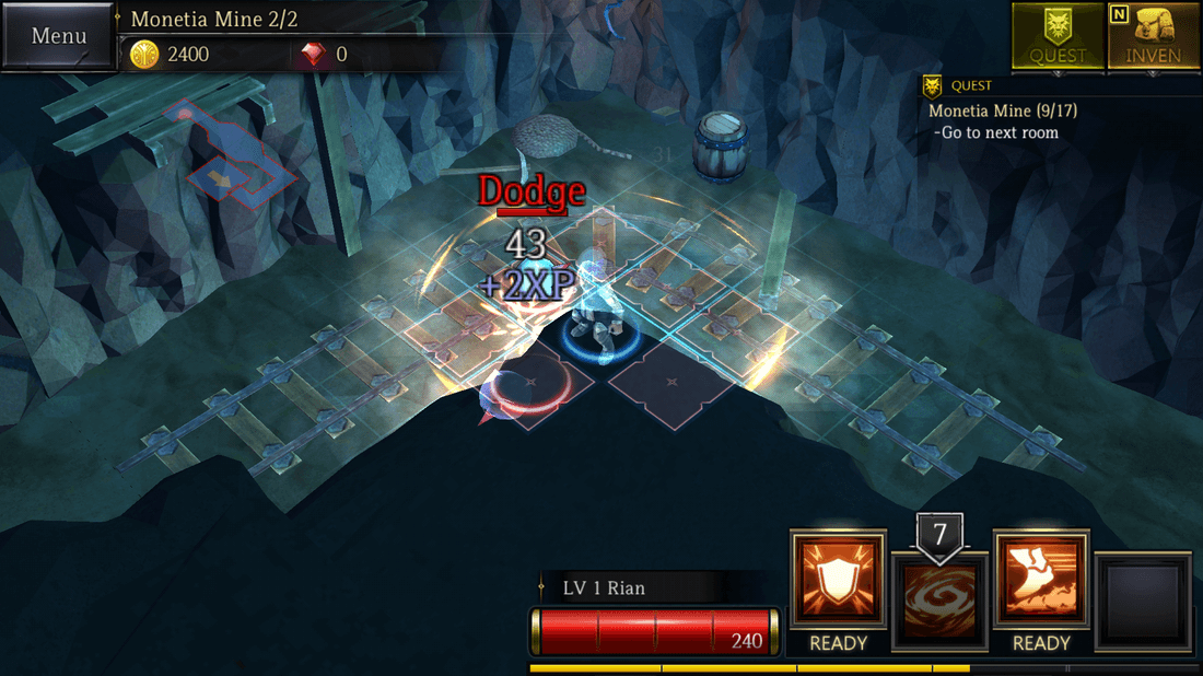 Скриншот #4 из игры Rogue Hearts