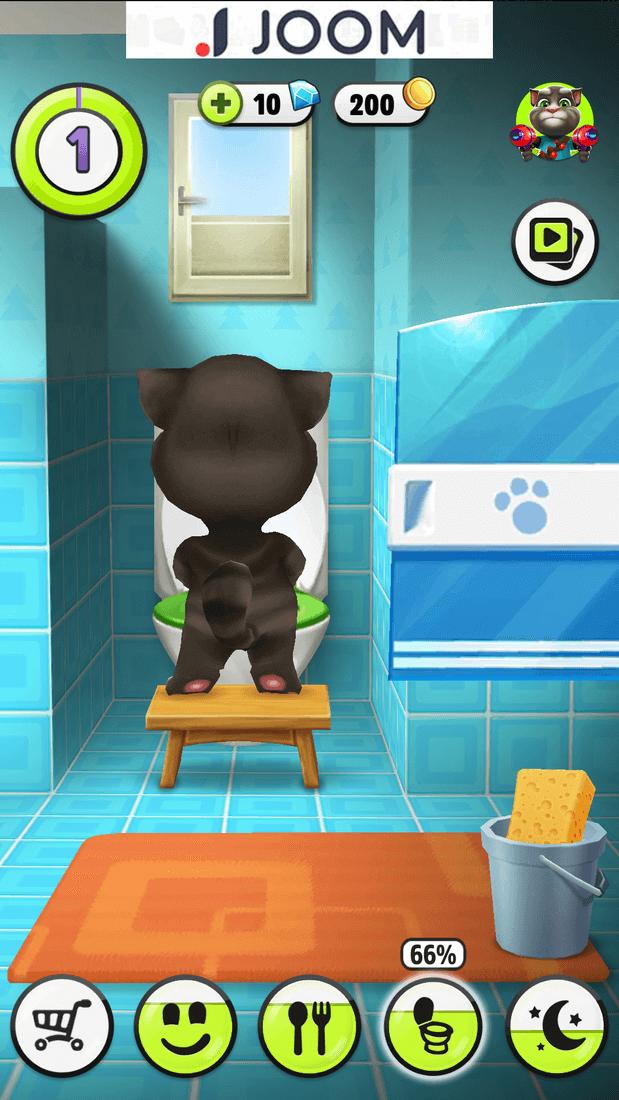 Скриншот #3 из игры Talking Tom Cat