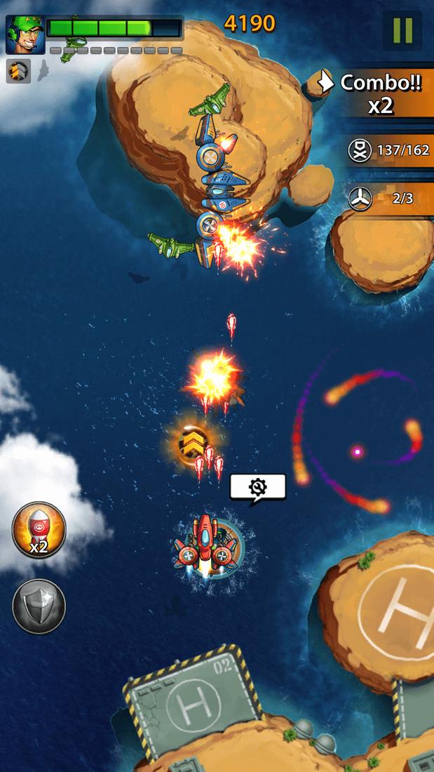 Скриншот #4 из игры Space X: Galaxy War of Air Force