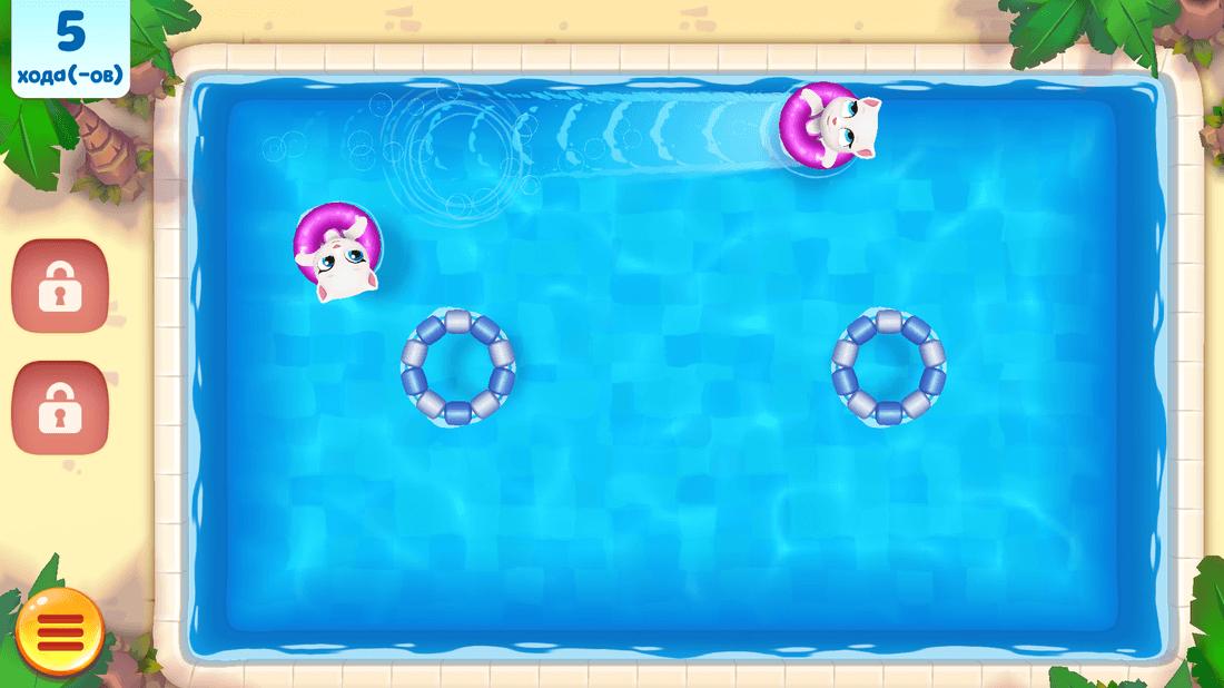 Скриншот #5 из игры Talking Tom Pool