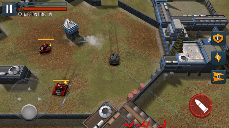 Скриншот #2 из игры Tank Battle: WW2 Game - Modern World of Shooting