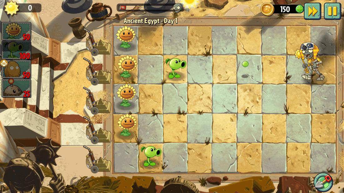 Скриншот #6 из игры Plants vs. Zombies 2