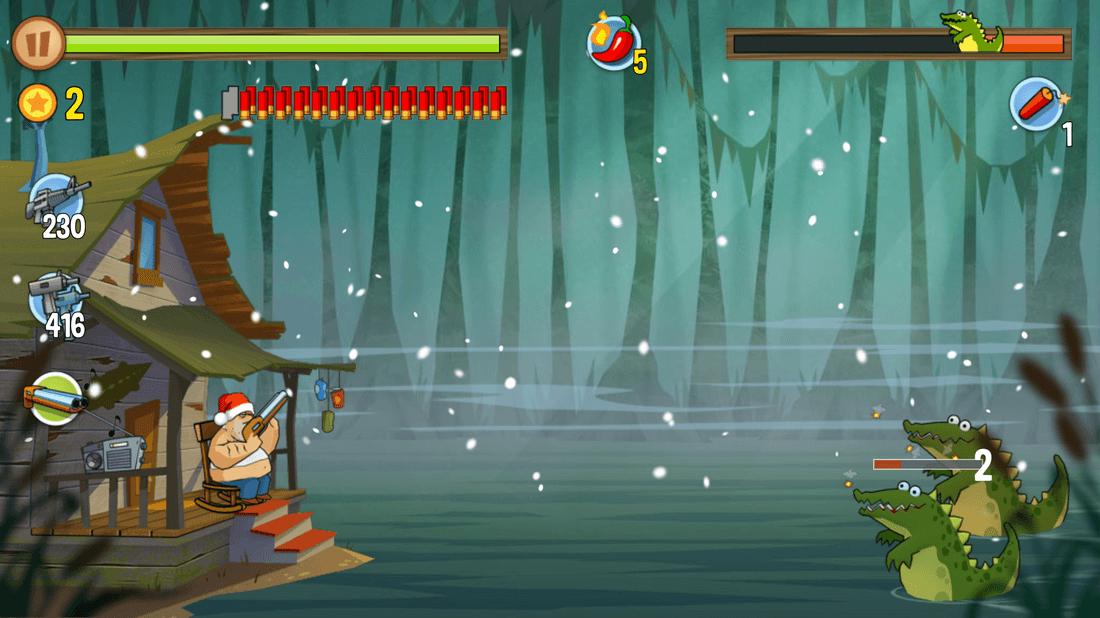 Скриншот #9 из игры Swamp Attack
