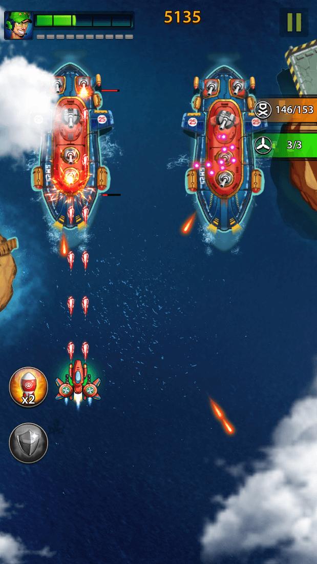 Скриншот #6 из игры Space X: Galaxy War of Air Force