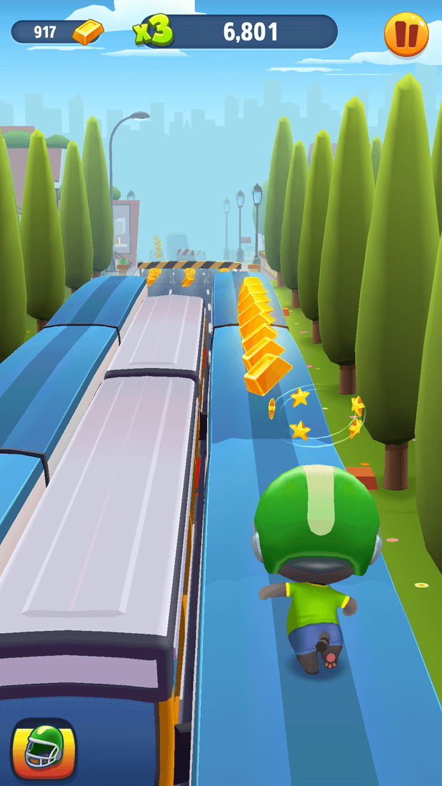 Скриншот #12 из игры Talking Tom Gold Run