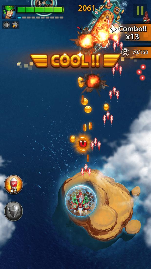 Скриншот #7 из игры Space X: Galaxy War of Air Force