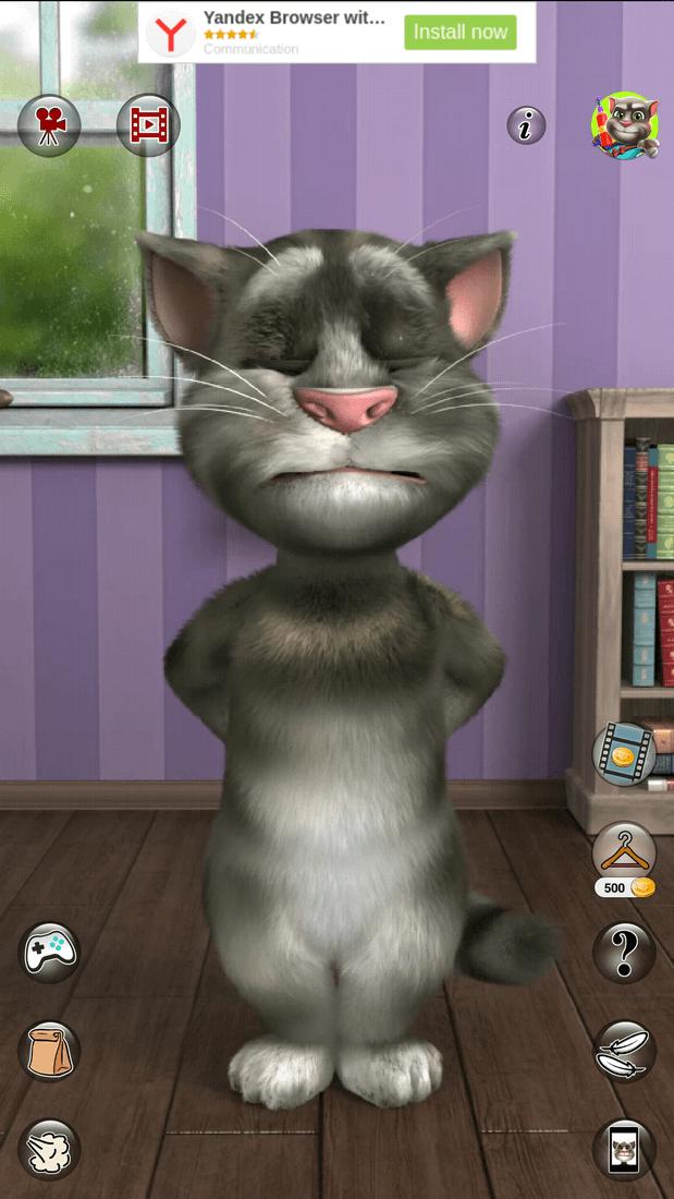 Скриншот #1 из игры Talking Tom Cat 2