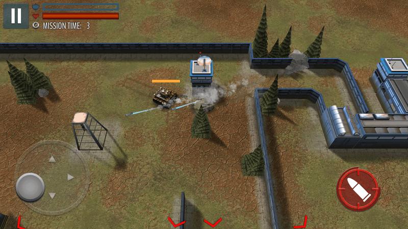 Скриншот #14 из игры Tank Battle: WW2 Game - Modern World of Shooting