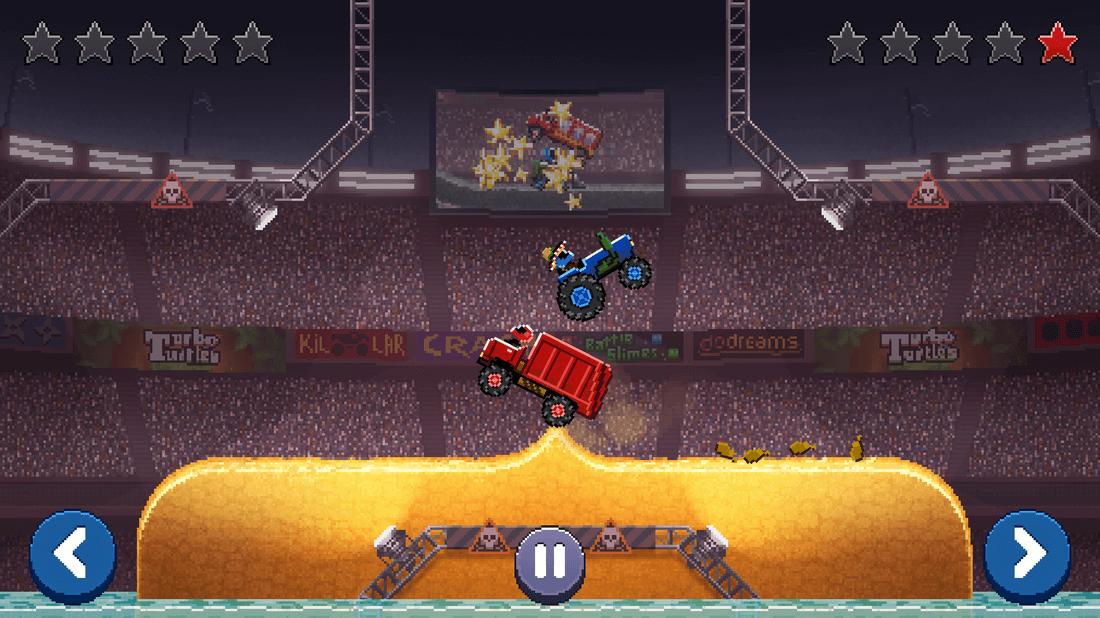 Скриншот #3 из игры Drive Ahead!