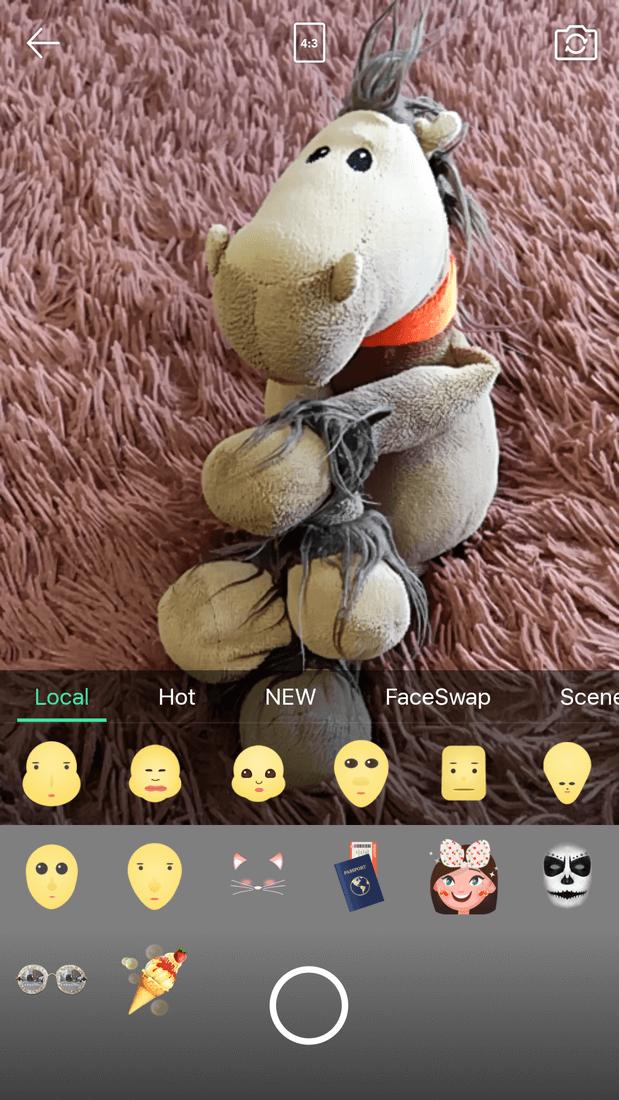 Скриншот #4 из программы Face Camera-Snappy Photo
