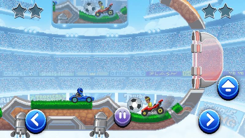 Скриншот #2 из игры Drive Ahead! Sports