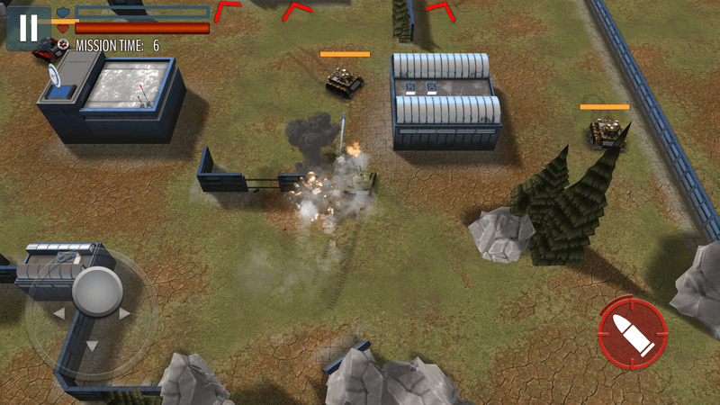 Скриншот #18 из игры Tank Battle: WW2 Game - Modern World of Shooting
