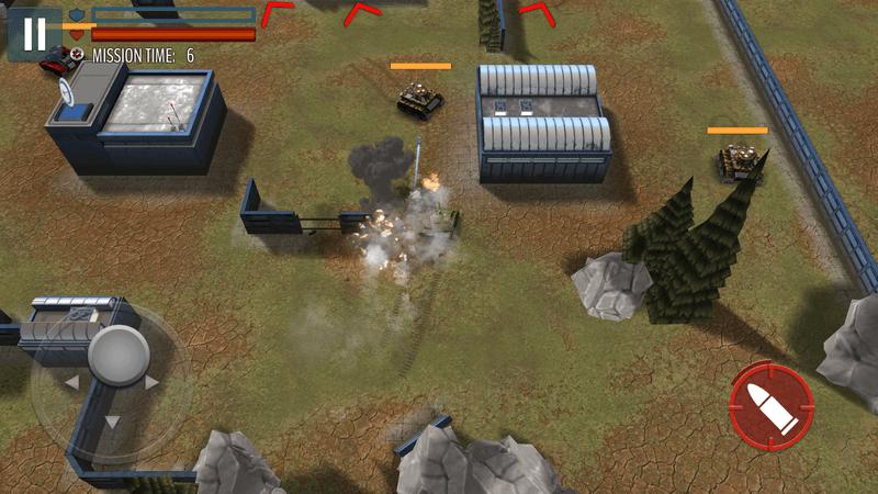 Скриншот #18 из игры Tank Battle: WW2 Game - Modern World of Shooting