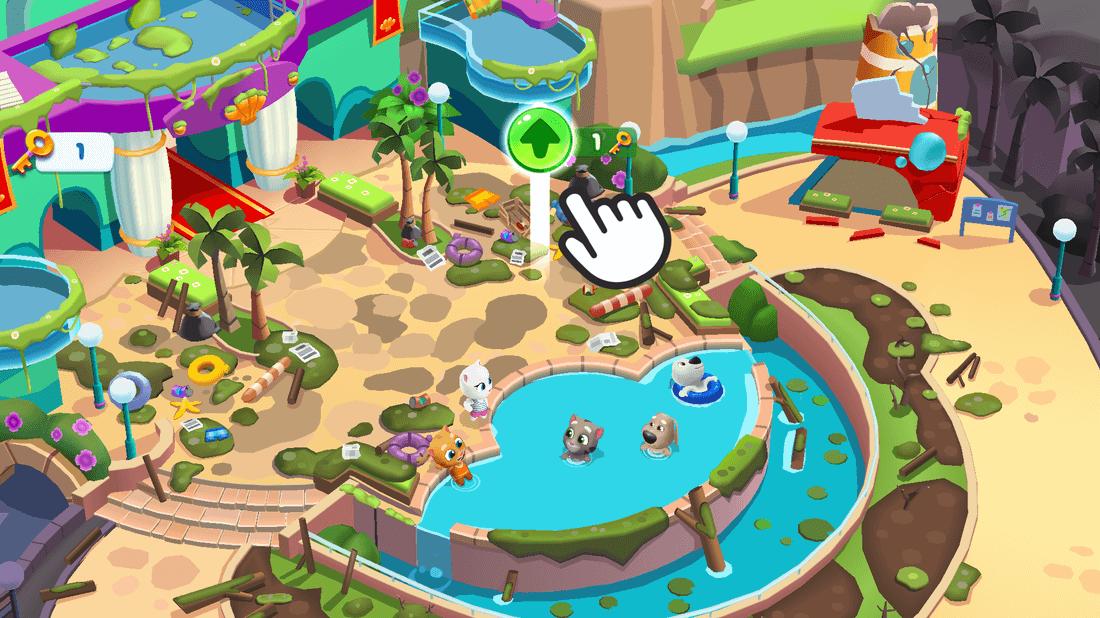 Скриншот #7 из игры Talking Tom Pool