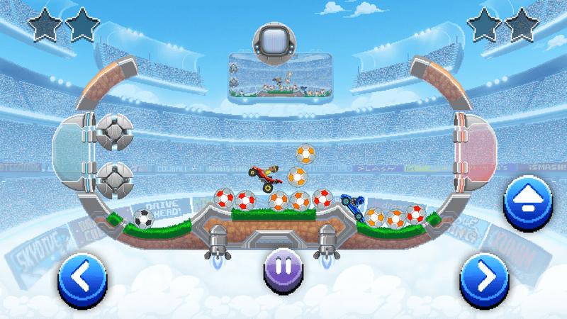 Скриншот #3 из игры Drive Ahead! Sports