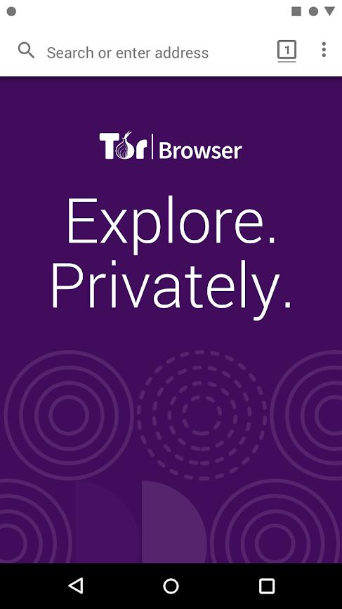 Скриншот #2 из программы Tor Browser for Android (Alpha)