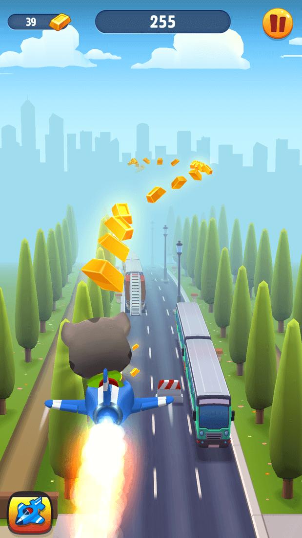 Скриншот #13 из игры Talking Tom Gold Run