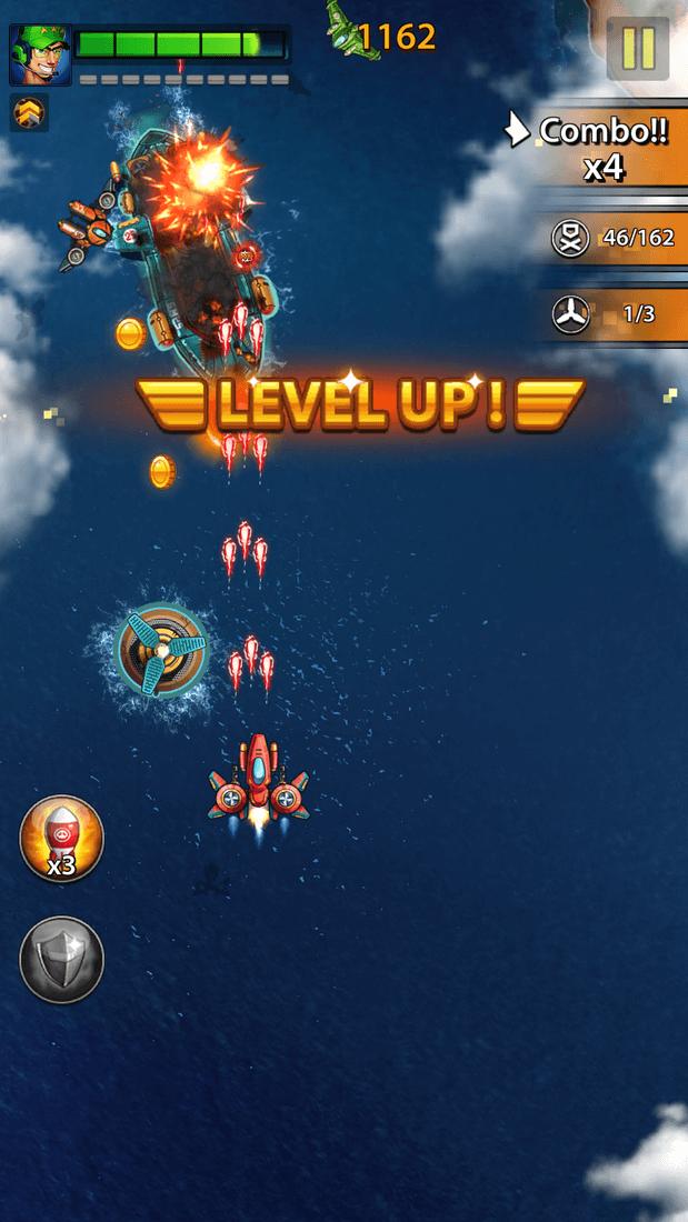 Скриншот #8 из игры Space X: Galaxy War of Air Force