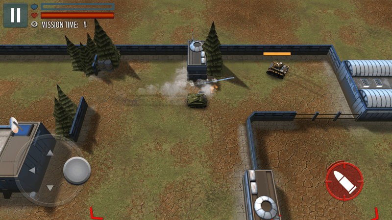Скриншот #11 из игры Tank Battle: WW2 Game - Modern World of Shooting