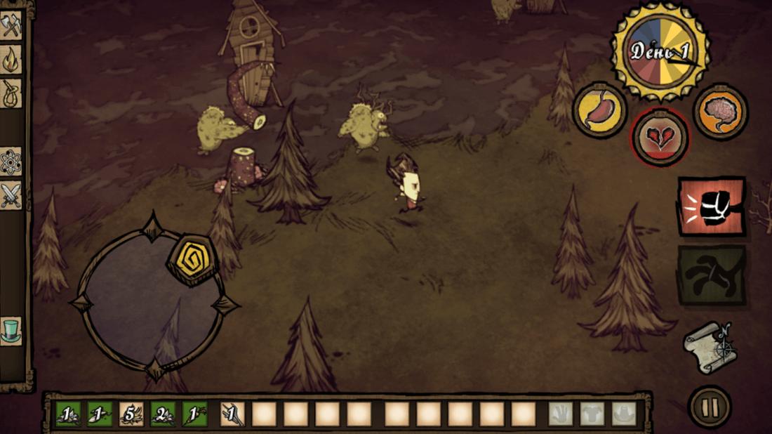 Скриншот #13 из игры Don\'t Starve: Pocket Edition